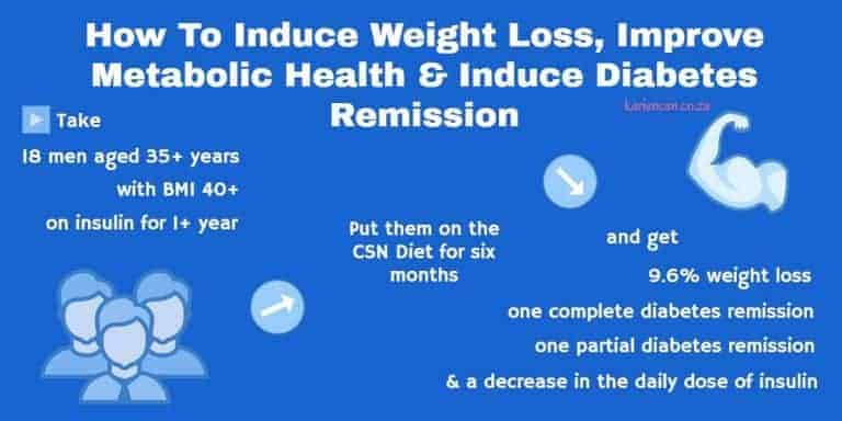 csn diet scientific study