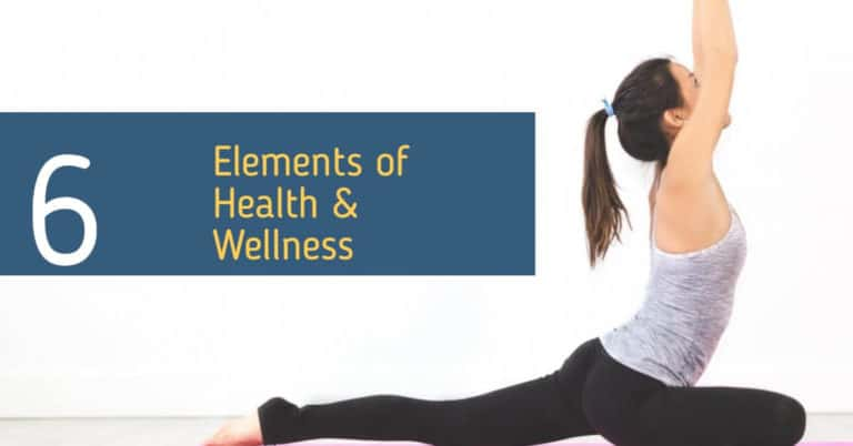 6 Elements of Health & Wellness