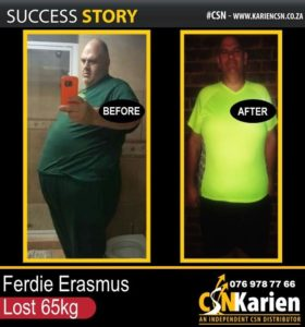 ost 65kg on the CSN program - and this changed his life